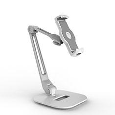Soporte Universal Sostenedor De Tableta Tablets Flexible H10 para Samsung Galaxy Note 10.1 2014 SM-P600 Blanco