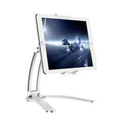 Soporte Universal Sostenedor De Tableta Tablets Flexible K05 para Huawei MatePad 5G 10.4 Plata