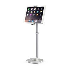Soporte Universal Sostenedor De Tableta Tablets Flexible K09 para Samsung Galaxy Tab S6 Lite 10.4 SM-P610 Blanco