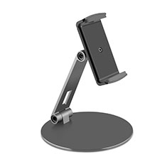 Soporte Universal Sostenedor De Tableta Tablets Flexible K10 para Apple iPad 4 Negro