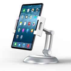 Soporte Universal Sostenedor De Tableta Tablets Flexible K11 para Samsung Galaxy Tab S7 Plus 12.4 Wi-Fi SM-T970 Plata