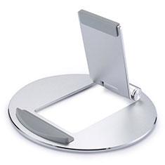 Soporte Universal Sostenedor De Tableta Tablets Flexible K16 para Huawei MediaPad M6 10.8 Plata