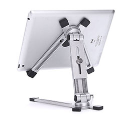 Soporte Universal Sostenedor De Tableta Tablets Flexible K19 para Huawei MatePad 10.8 Plata