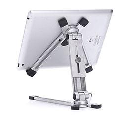 Soporte Universal Sostenedor De Tableta Tablets Flexible K19 para Huawei MediaPad M6 10.8 Plata