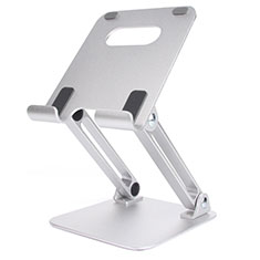 Soporte Universal Sostenedor De Tableta Tablets Flexible K20 para Apple iPad Air 3 Plata