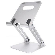 Soporte Universal Sostenedor De Tableta Tablets Flexible K20 para Huawei MatePad 5G 10.4 Plata