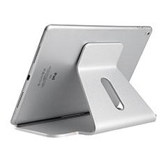 Soporte Universal Sostenedor De Tableta Tablets Flexible K21 para Apple iPad Air 3 Plata