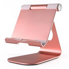 Soporte Universal Sostenedor De Tableta Tablets Flexible K23 para Huawei MatePad 5G 10.4 Oro Rosa