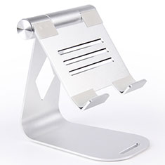 Soporte Universal Sostenedor De Tableta Tablets Flexible K25 para Apple iPad Air 3 Plata