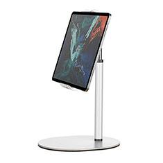 Soporte Universal Sostenedor De Tableta Tablets Flexible K28 para Huawei MatePad 10.8 Blanco