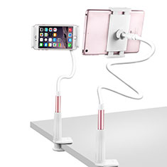Soporte Universal Sostenedor De Tableta Tablets Flexible T33 para Apple iPad 3 Oro Rosa