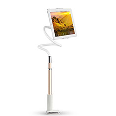 Soporte Universal Sostenedor De Tableta Tablets Flexible T36 para Apple iPad 3 Oro Rosa