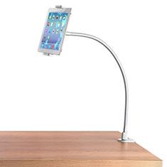 Soporte Universal Sostenedor De Tableta Tablets Flexible T37 para Apple iPad 3 Blanco