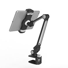 Soporte Universal Sostenedor De Tableta Tablets Flexible T43 para Apple iPad 3 Negro