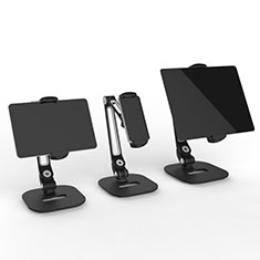 Soporte Universal Sostenedor De Tableta Tablets Flexible T44 para Apple iPad 2 Negro
