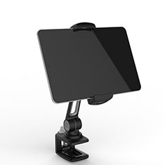 Soporte Universal Sostenedor De Tableta Tablets Flexible T45 para Apple iPad 3 Negro