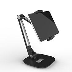 Soporte Universal Sostenedor De Tableta Tablets Flexible T46 para Apple iPad 2 Negro