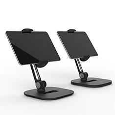Soporte Universal Sostenedor De Tableta Tablets Flexible T47 para Apple iPad 3 Negro