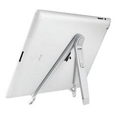Soporte Universal Sostenedor De Tableta Tablets para Apple iPad 3 Plata