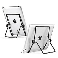 Soporte Universal Sostenedor De Tableta Tablets T20 para Apple iPad 3 Negro