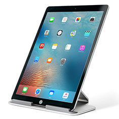 Soporte Universal Sostenedor De Tableta Tablets T25 para Apple iPad 4 Plata