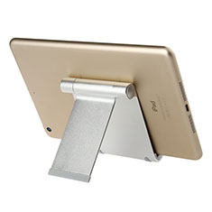 Soporte Universal Sostenedor De Tableta Tablets T27 para Apple iPad 2 Plata