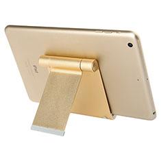 Soporte Universal Sostenedor De Tableta Tablets T27 para Apple iPad 3 Oro