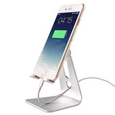 Soporte Universal Sostenedor De Telefono Movil T08 Plata