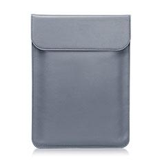 Suave Cuero Bolsillo Funda L01 para Huawei Honor MagicBook 15 Gris