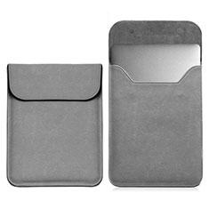Suave Cuero Bolsillo Funda L03 para Samsung Galaxy Book Flex 13.3 NP930QCG Gris