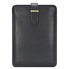 Suave Cuero Bolsillo Funda L06 para Huawei Matebook X Pro (2020) 13.9 Negro