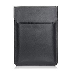 Suave Cuero Bolsillo Funda L21 para Apple MacBook Air 11 pulgadas Negro