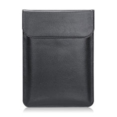 Suave Cuero Bolsillo Funda L21 para Apple MacBook Air 13 pulgadas (2020) Negro