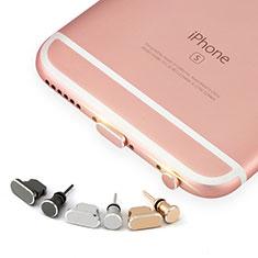 Tapon Antipolvo Lightning USB Jack J04 para Apple iPhone 6S Oro Rosa