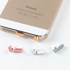 Tapon Antipolvo Lightning USB Jack J05 para Apple New iPad Air 10.9 (2020) Oro