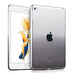 Ultra-thin Transparente Gradient Soft Cover para Apple iPad Air 2 Gris