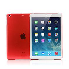 Ultra-thin Transparente Mate Case para Apple iPad Mini 3 Rojo