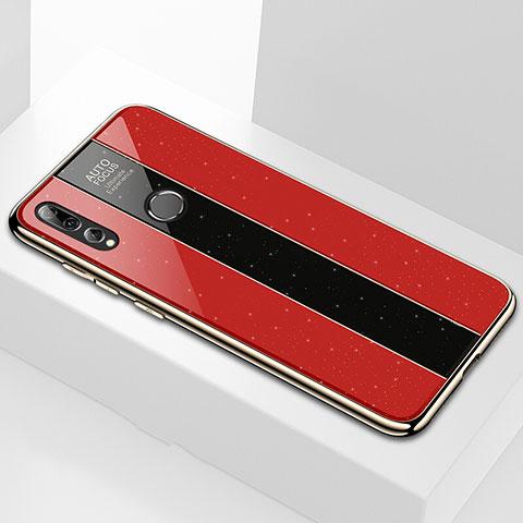 Carcasa Bumper Funda Silicona Espejo M02 para Huawei Honor 20 Lite Rojo