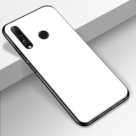 Carcasa Bumper Funda Silicona Espejo para Huawei Honor 20 Lite Blanco
