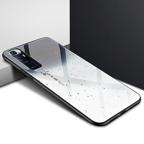 Carcasa Bumper Funda Silicona Espejo para Xiaomi Mi 10 Ultra Gris