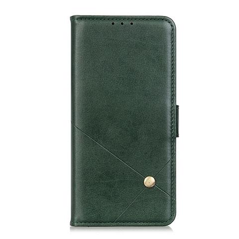 Funda de Cuero Cartera con Soporte Carcasa L02 para Motorola Moto G9 Plus Verde