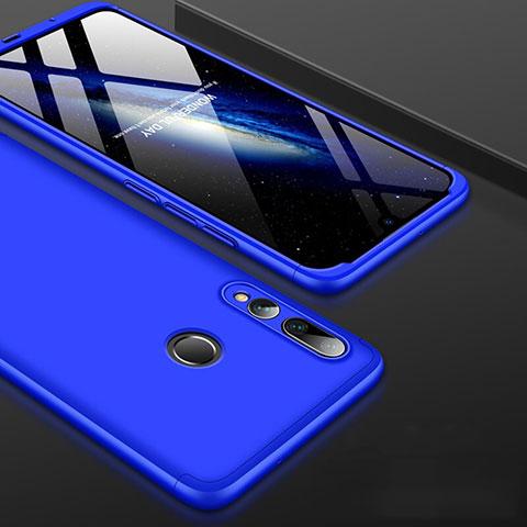 Funda Dura Plastico Rigida Carcasa Mate Frontal y Trasera 360 Grados para Huawei Honor 20 Lite Azul