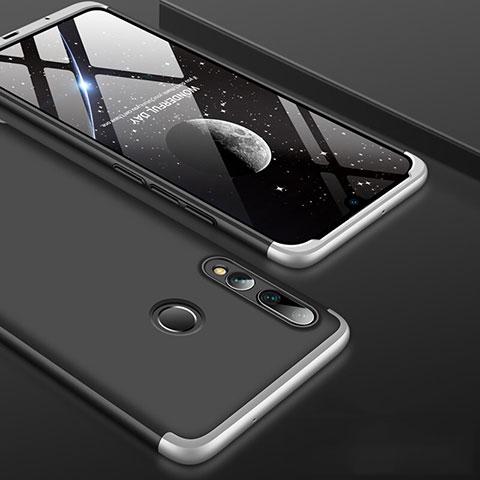 Funda Dura Plastico Rigida Carcasa Mate Frontal y Trasera 360 Grados para Huawei Honor 20 Lite Plata