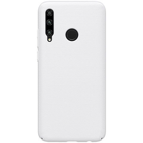 Funda Dura Plastico Rigida Carcasa Mate M01 para Huawei Honor 20 Lite Blanco
