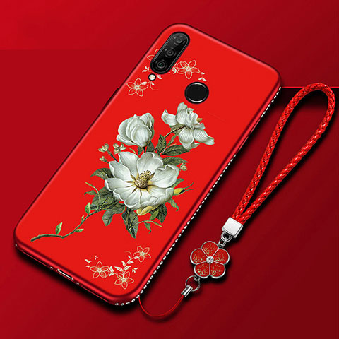 Funda Silicona Gel Goma Flores Carcasa para Huawei Honor 20 Lite Vistoso