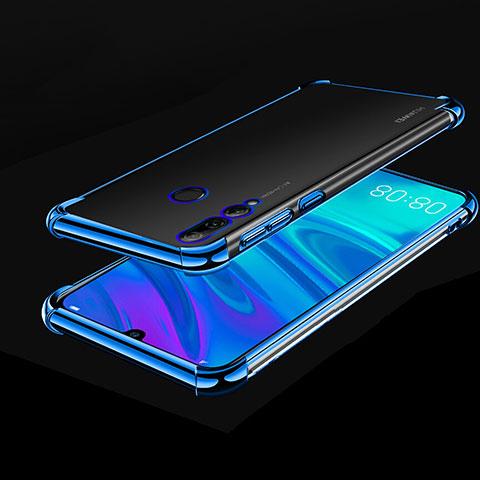 Funda Silicona Ultrafina Carcasa Transparente H01 para Huawei Honor 20 Lite Azul