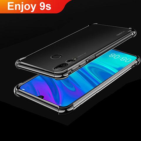 Funda Silicona Ultrafina Carcasa Transparente H01 para Huawei Honor 20 Lite Negro