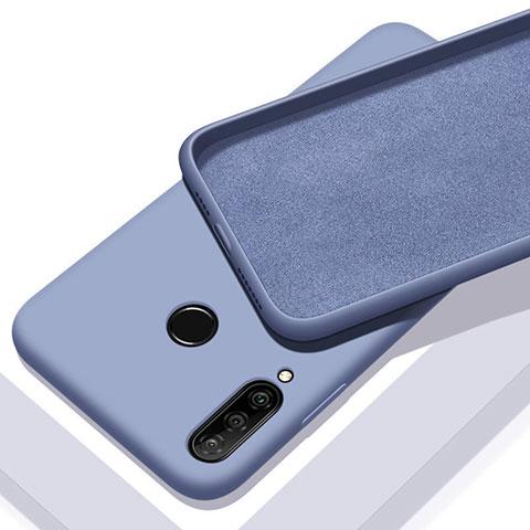 Funda Silicona Ultrafina Goma 360 Grados Carcasa para Huawei Honor 20 Lite Azul Cielo
