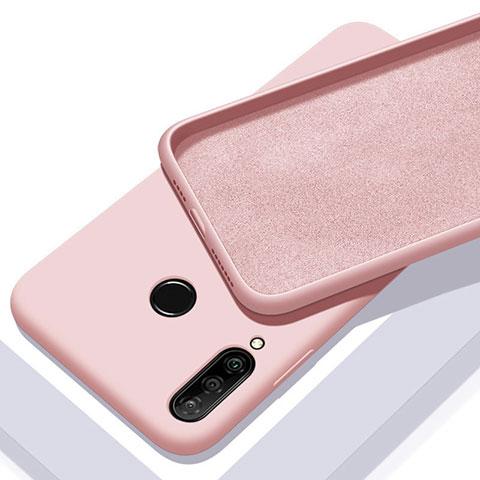 Funda Silicona Ultrafina Goma 360 Grados Carcasa para Huawei Honor 20 Lite Oro Rosa