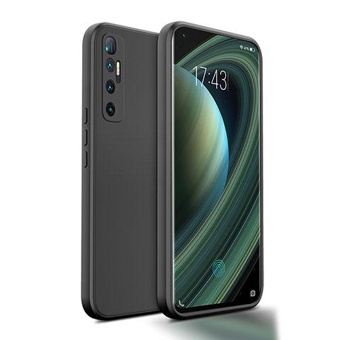 Funda Silicona Ultrafina Goma 360 Grados Carcasa S01 para Xiaomi Mi 10 Ultra Negro